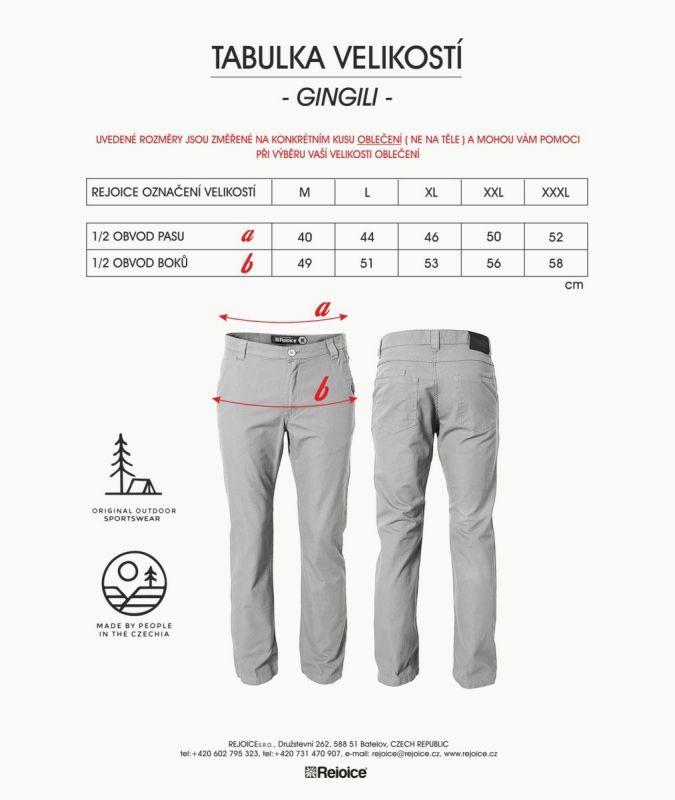 Rejoice kalhoty GINGILLI R01