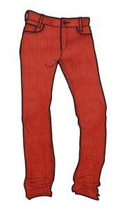 Rejoice kalhoty DESSERT CHERRY m06