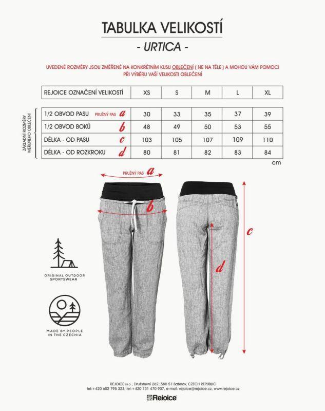 Rejoice kalhoty URTICA dámské M01