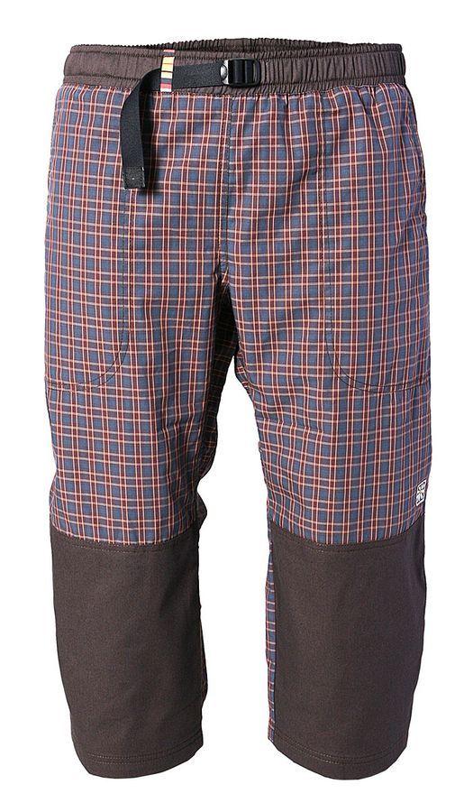 Rejoice kalhoty 3/4 MOTH unisex 200/54 hnědá