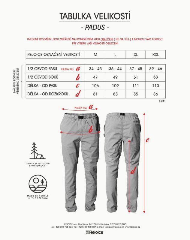 Rejoice kalhoty PADUS U237