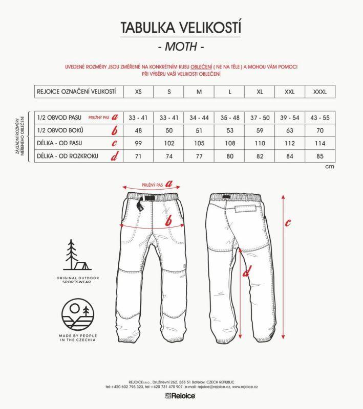 Rejoice kalhoty MOTH 190/02