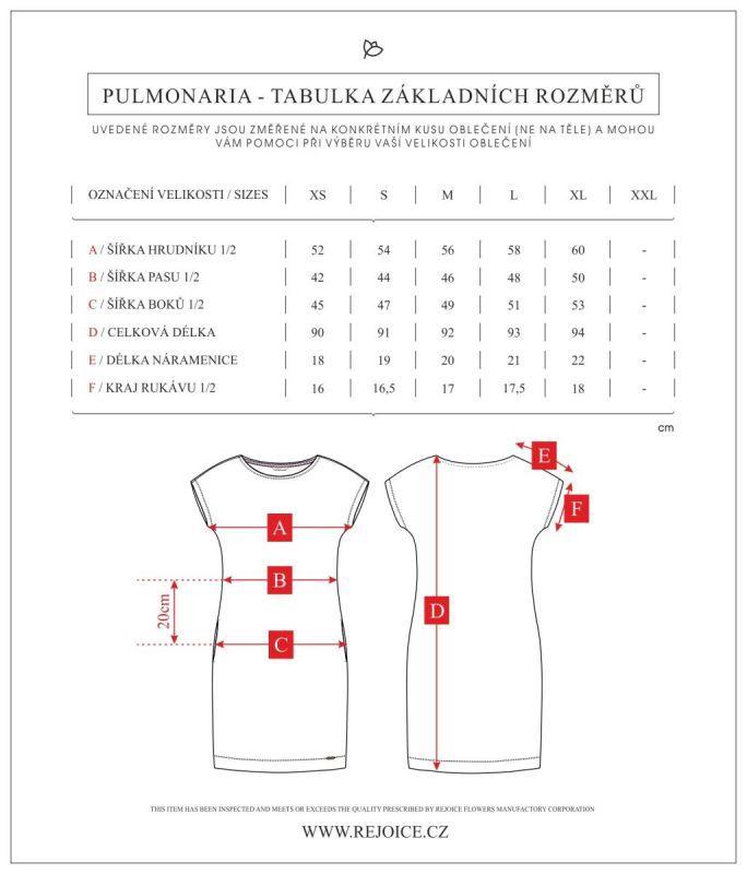 Rejoice šaty PULMONARIA LE T 37