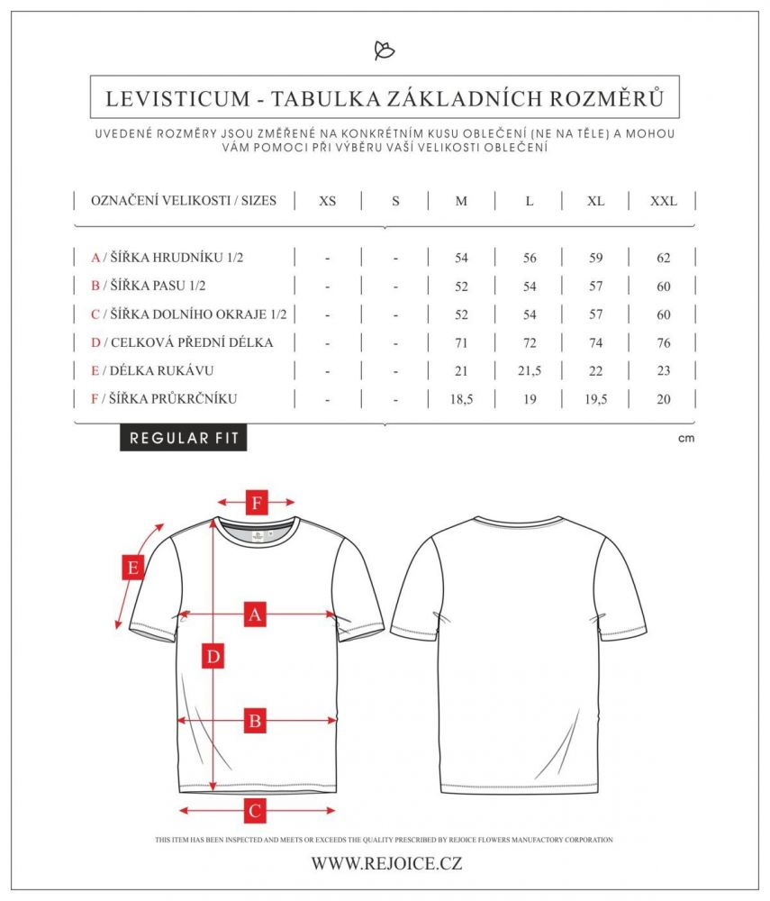 Rejoice triko Levisticum U306-2105